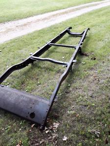1930 Dodge frame