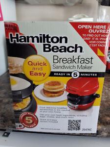 Breakfast Sandwich Maker - Brand New Unopened