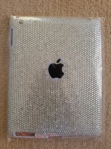 New bling diamond resin crystal case cover for Apple ipad 2 3 4