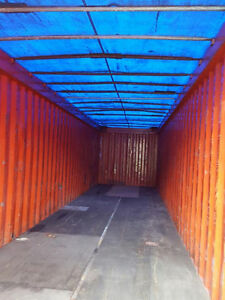 Used 40 ft Open Top Std Container
