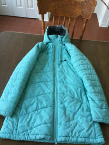 Manteau chlorophylle pour femme taille small