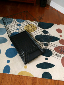 Wire kennel - large - used twice