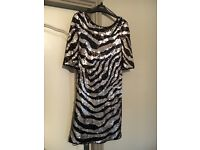 Glam Sequinned Dress Size 10