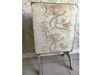 Original Vintage Shabby Chic Ornate Screen / table £28