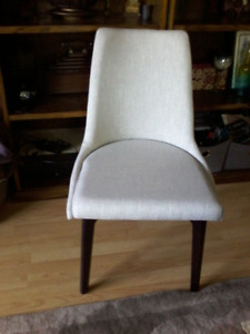 Pair (2) of New Stools/chairs Grey