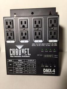 CHAUVET DIMMER RELAY PACK DMX-4