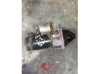 Vauxhall corsa 1.2 sxi starter motor