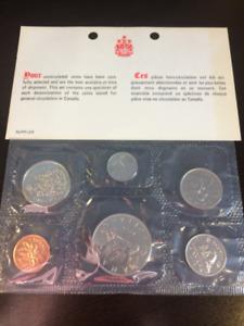 1975 Canadian Mint sets