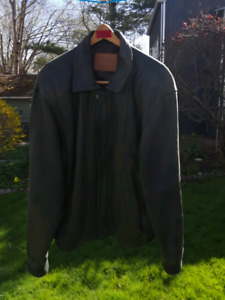 DJ Tannery leather jacket xltall