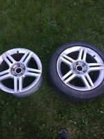 2 mags audi 5x112