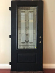 "New Masonite Fiberglass Exterior Front Door 36"" x 79"""
