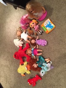 Miscellaneous stuffy toys $5 - OBO