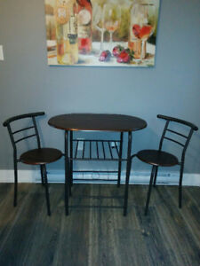 Small-compact dining set-table with two chairs -BRAND NEW