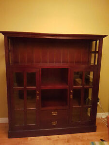 For Sale: Gorgeous Solid Wood Cabinet