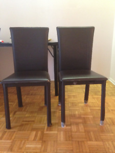three chairs $10