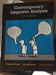 Contemporary Linquistic Analysis (7th edition)