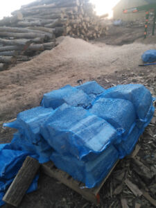 Whole sale firewood bags on pallets attention buyers