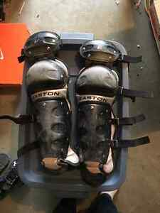 Baseball cleats size 6 and 7 and shin guards