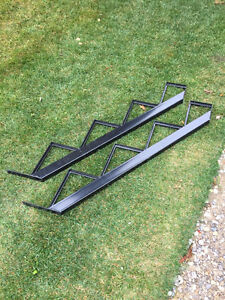 4 Step metal stair riser (stringer) - Unused, bought from Lowes