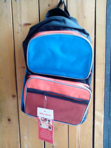 New Kids Backpack + Lunch Bag for School or Camp $10