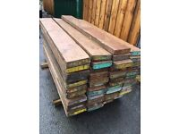 6ft scaffolding boards 3 inch thick £4 each