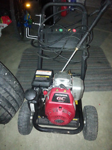 Honda pressure washer 3000psi with issue