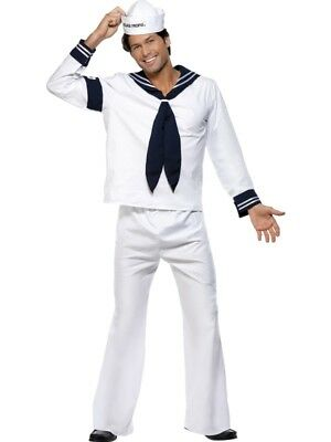 Village People Outfits (Original Village People Costume Outfit Navy Sailor SIZE)