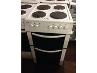 BUSH 50CM PLATED TOP ELECTRIC COOKER00