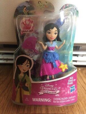 Disney Princess Little Kingdom Mulan Snap-In Doll NEW