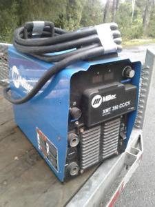 2 Miller inverters & remote, plasma cutter, and Lincoln wirefeed