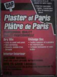 Patching Powder and Plaster of Paris