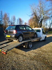 Car recovery £50