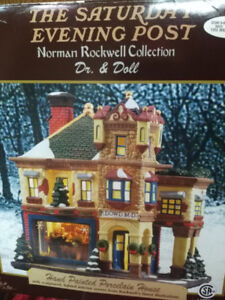 The Saturday Evening Post Norman Rockwell Collection Dr. & Doll