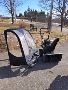 craftsman snow blower and canopy