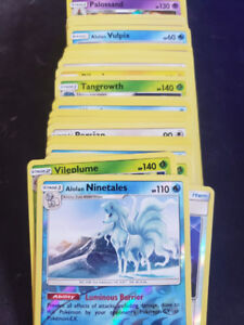 Pokemon Cards - Over 100 Foil and Reverse Foil Cards.