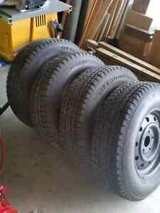 BF Winter Slalom 225/75R16 on rims