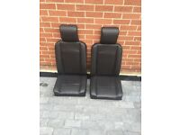 Land Rover front seats