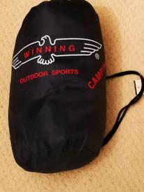 Winning sleeping bag not been used
