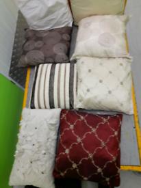 Cushions varied