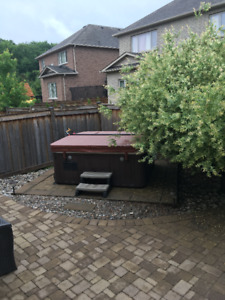 Hot tub cover used only 2 month without heated hot tub