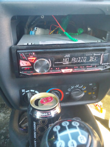Radio jvc bluetooth aux usb