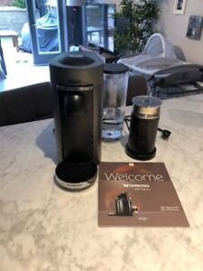 Nespresso VertuoPlus Deluxe Machine w/ Frother by De'Longhi
