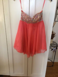 Graduation Dress Size Extra Small