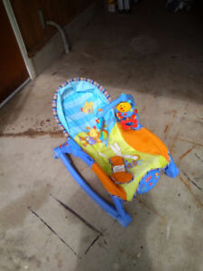 1 Excellent Fisher-Price bouncer chair