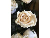 3 BOXES PAPER ROSES VINTAGE STYLE