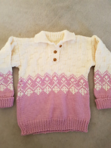 Women's heavy knit sweater