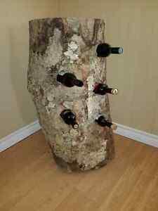 Bûche Érable table  & rack a Vin bois Franc Antique Déco Saguenay Saguenay-Lac-Saint-Jean image 2