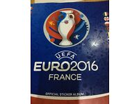 Euro 2016 stickers