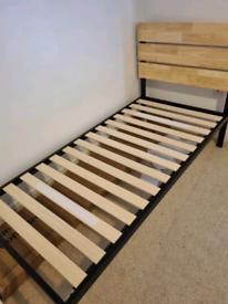 Eleanor platform bed single and mattress