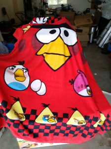 Angry bird bed set single bed